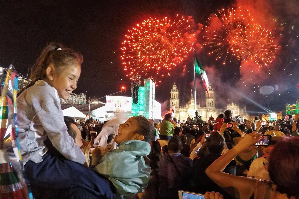Zócalo, Grito de Independencia, Andrés Manuel López Obrador