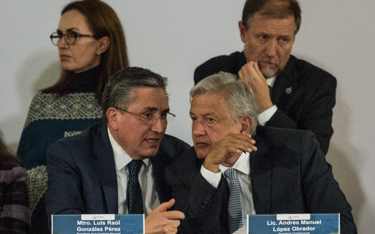 CNDH, Comisión Nacional de Derechos Humanos, Luis Raúl González Pérez, López Obrador, organismo autónomo,