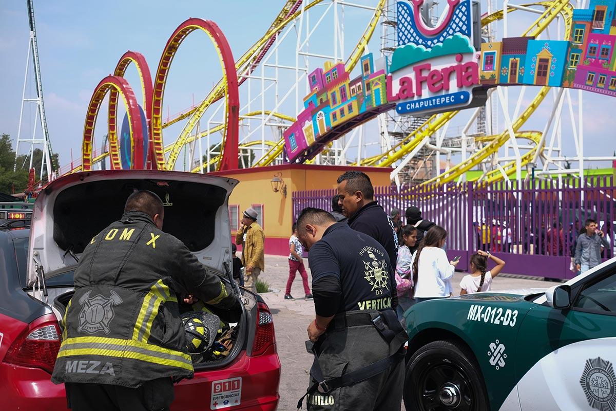 Feria de Chapultepec, CDMX, muerte, negligencia