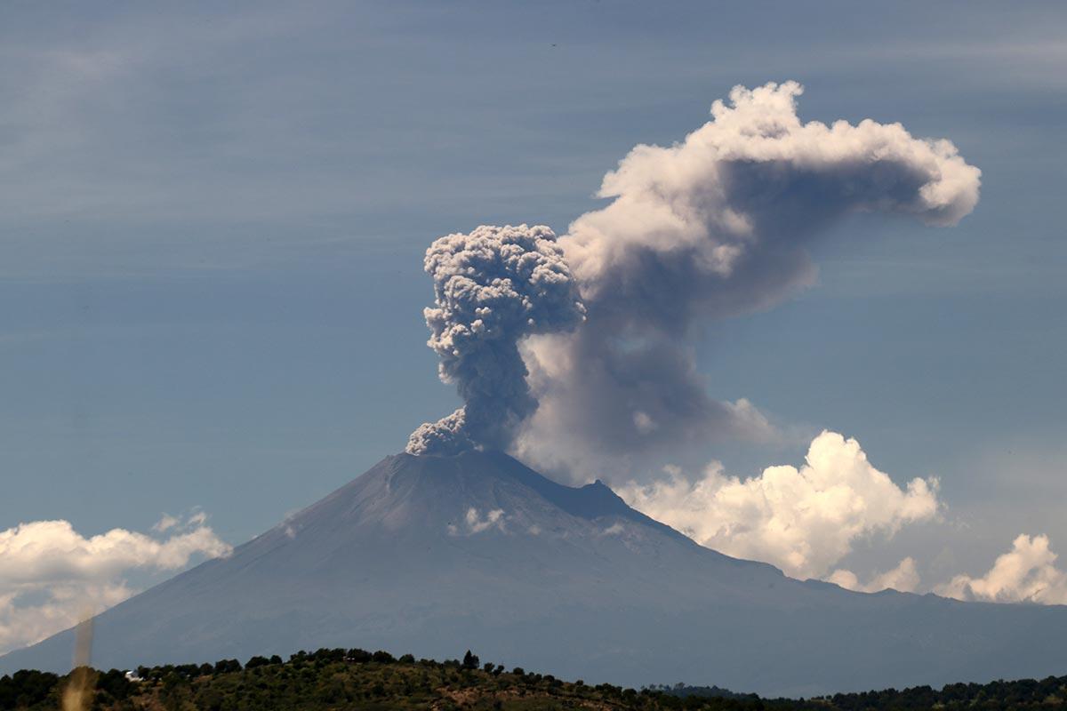 volcán popocatépetl,