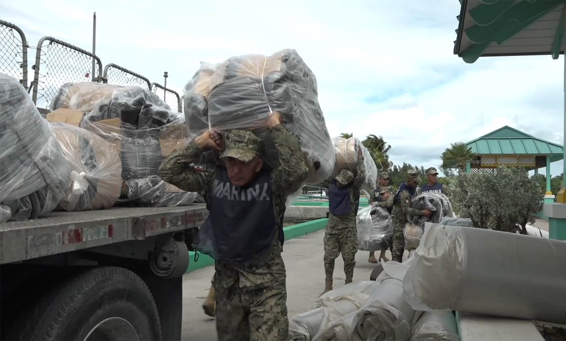 Marina, Bahamas, Ayuda humanitaria