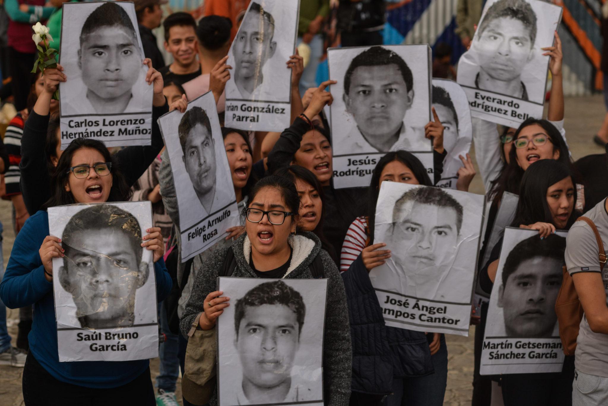 Ayotzinapa, Iguala, Guerrero, Alejandro Encinas, estudiantes, normalistas,