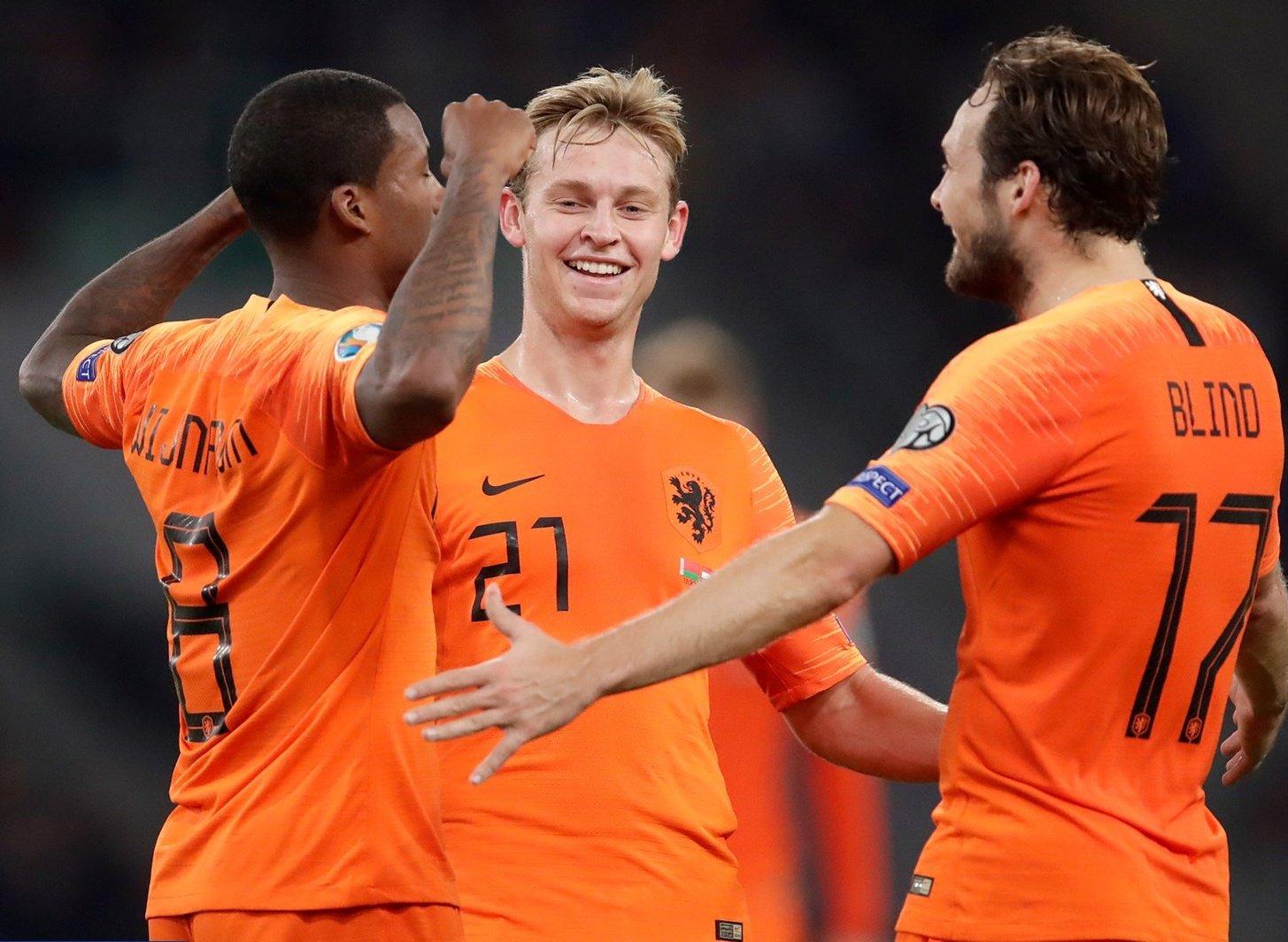 Holanda le pegó a Bielorrusia. Foto: twitter