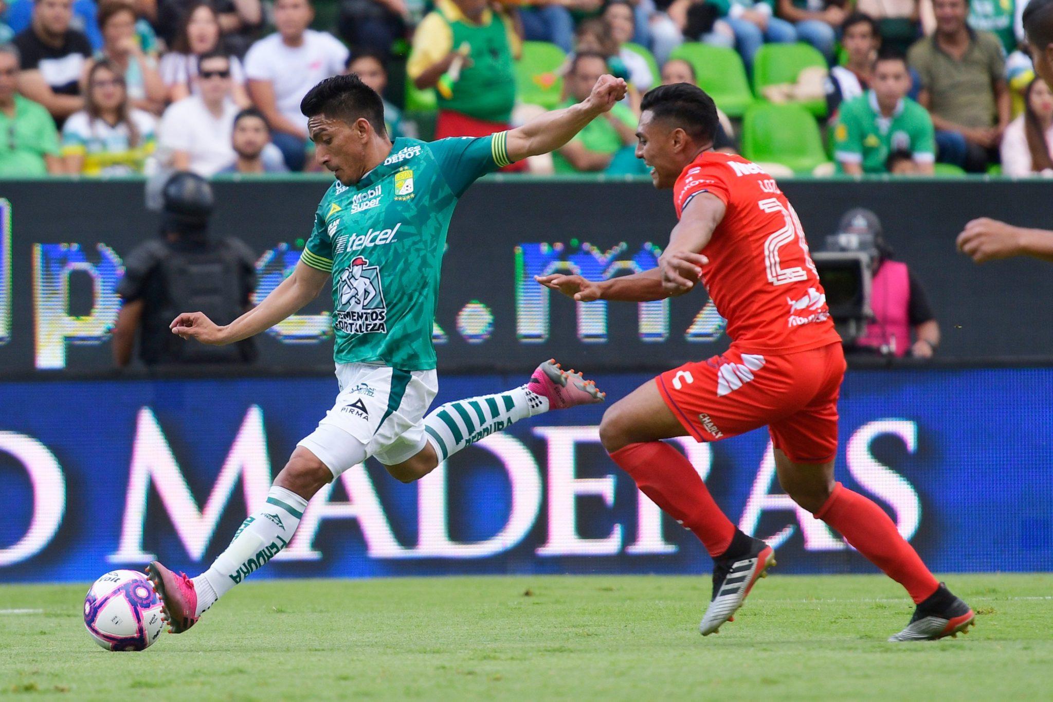 León y Veracruz empataron. Foto: Twitter