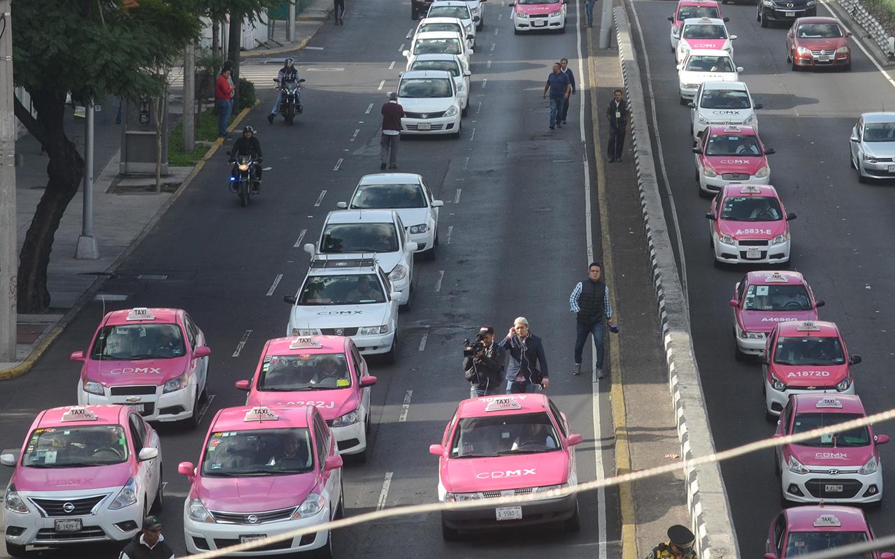 TAXIS, taxistas, protesta, Uber, App,