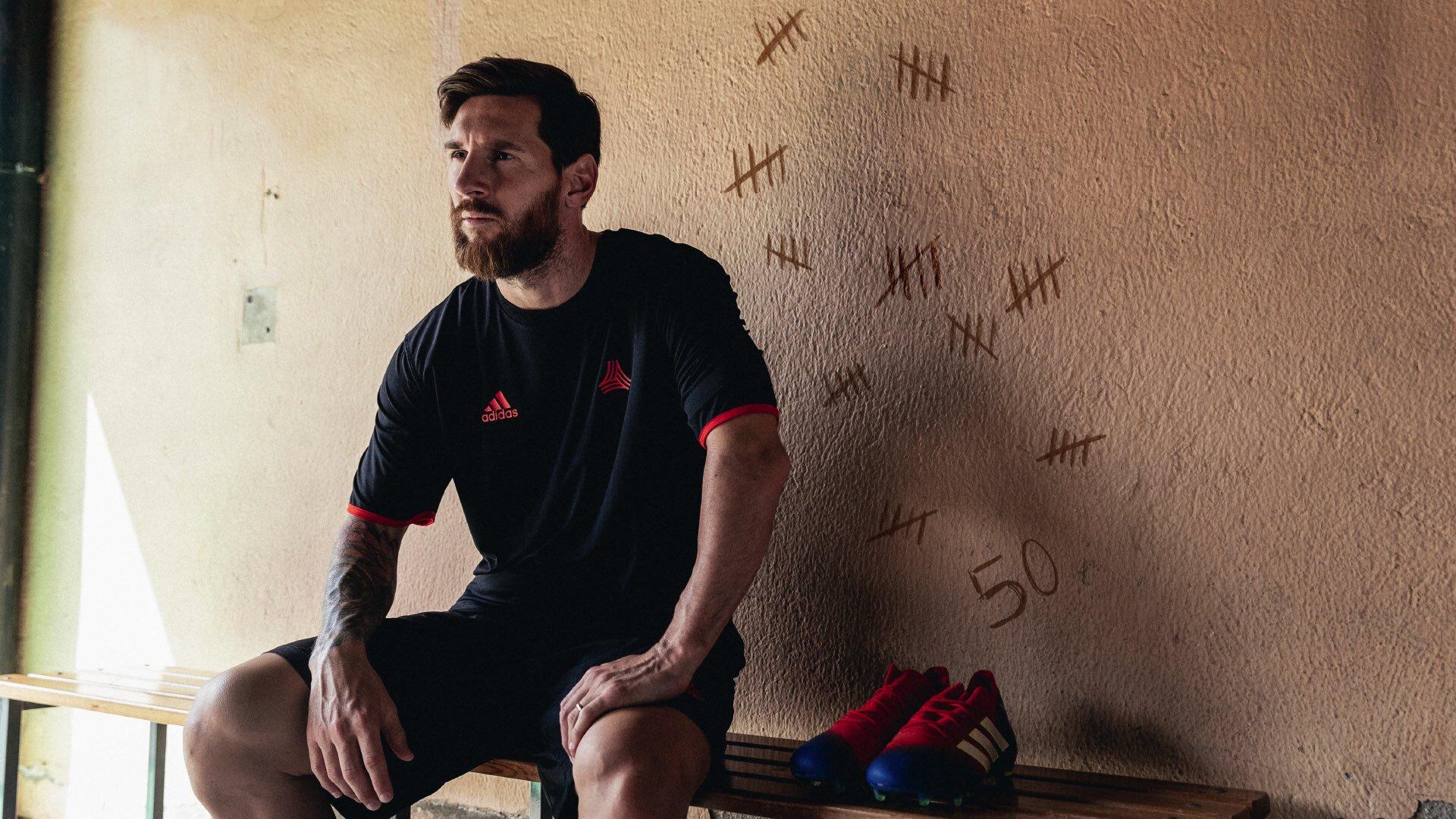Messi a punto de dejar al Barcelona. Foto: Twitter