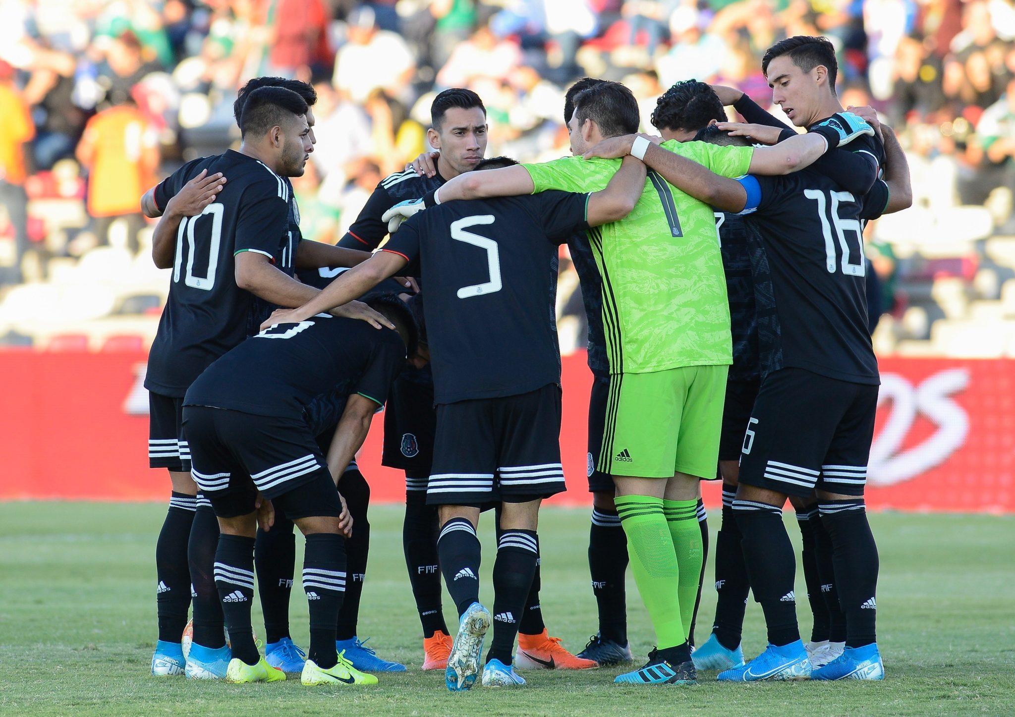 México empató con Argentina. Foto: Twitter