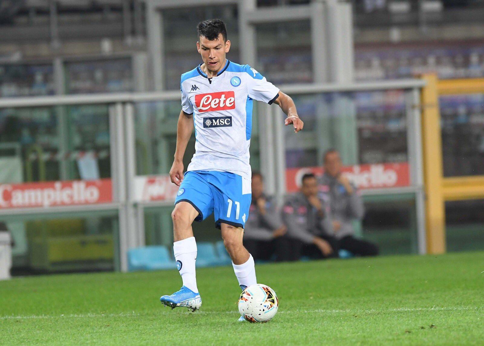 Napoli no pudo con Torino. Foto: Twitter