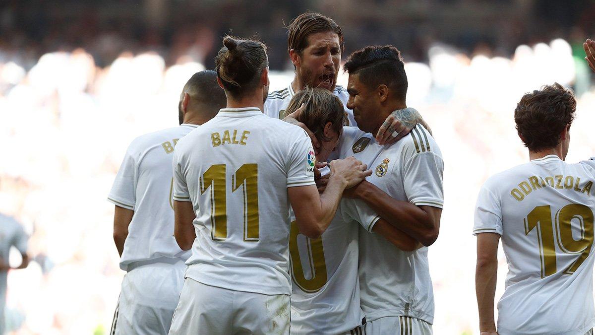 Real Madrid le ganó a Granada. Foto: Twitter