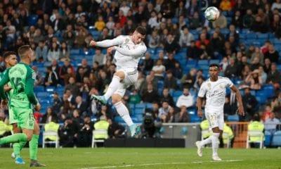 Real Madrid le pegó a Leganés. Foto: Twitter