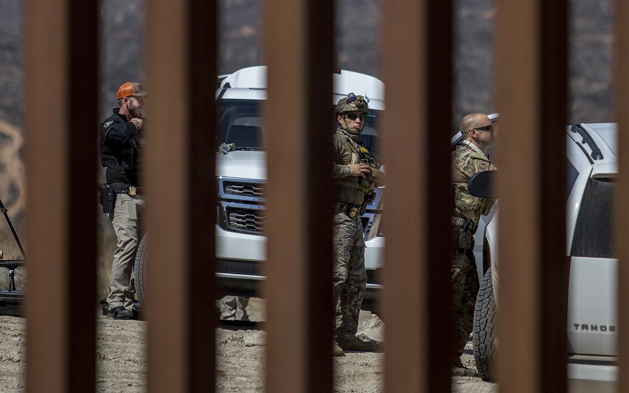 muro fronterizo, Donald Trump, Estados Unidos, juez,