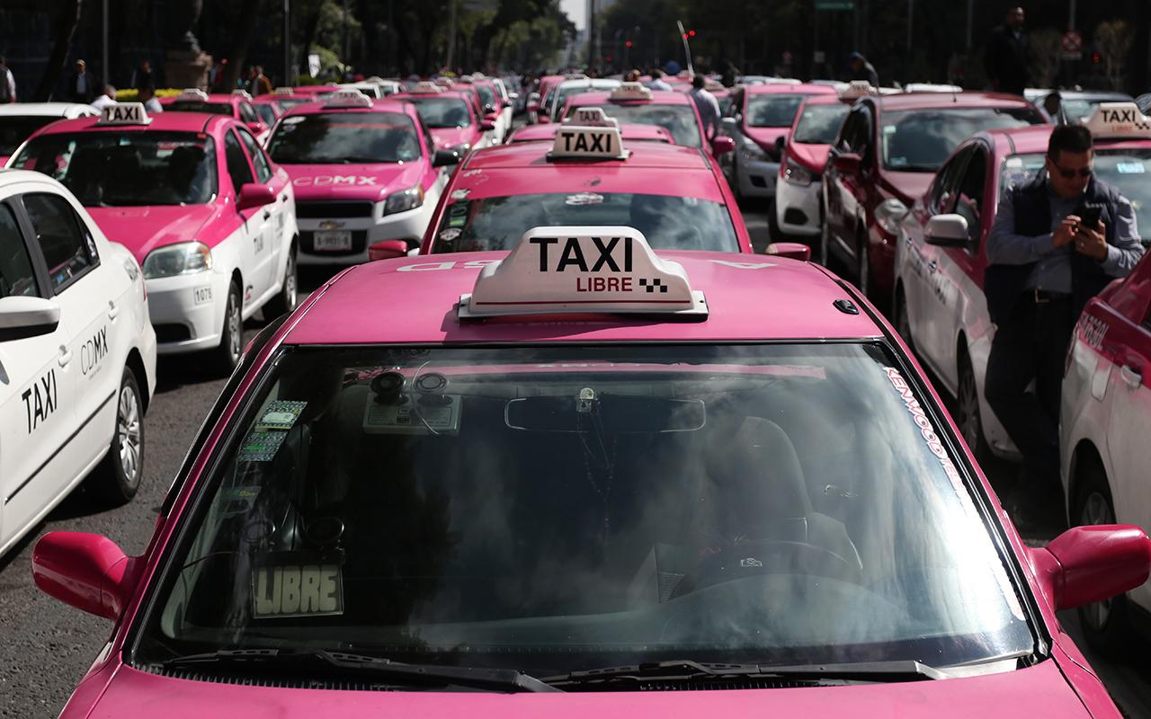taxis, taxistas, Gobernación, protestas, Uber,