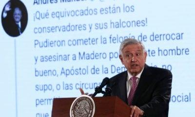 AMLO señala al hijo de Calderón de usar granjas de bots