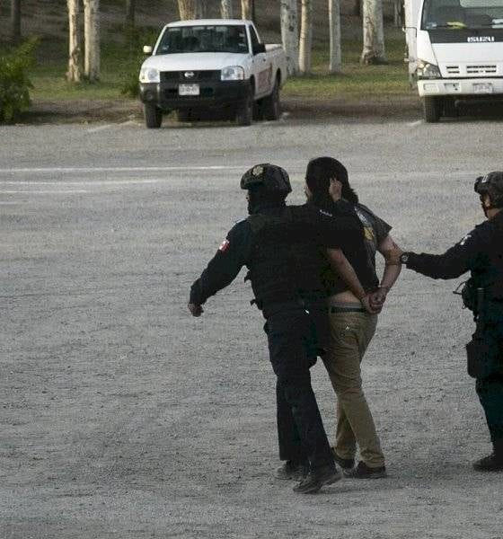 Aficionados protagonizan pelea. Foto: Twitter