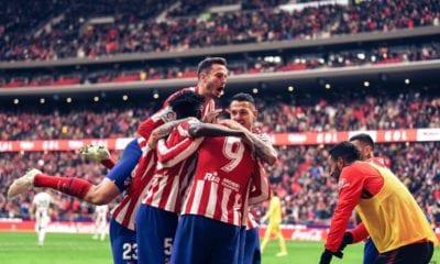 Atlético de Madrid le pegó al Espanyol. Foto: Twitter