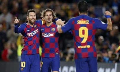 Barcelona avanzó en Champions. Foto: Twitter