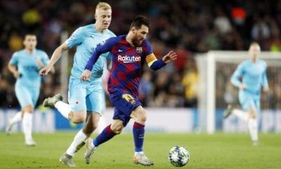 Barcelona no pudo en la Champions. Foto: Twitter