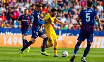 Barcelona no pudo y perdió. Foto: Twitter