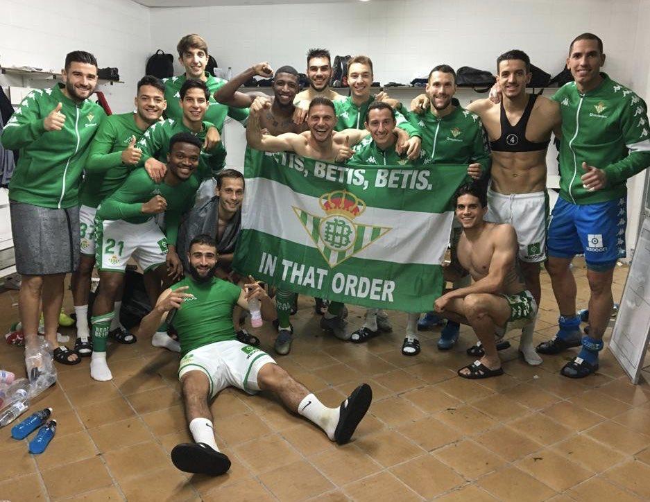 Betis le pegó a Mallorca. Foto: Twitter