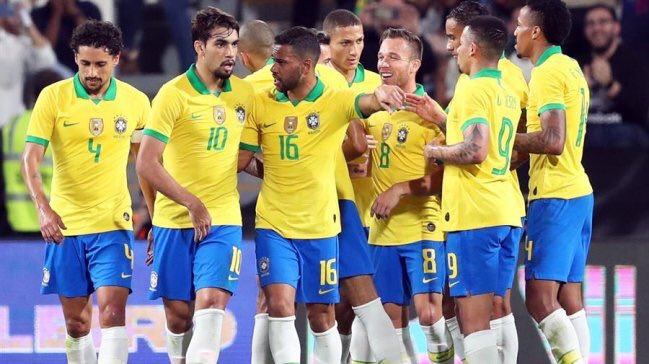 Brasil dio cuenta de Corea del Sur. Foto: Twitter