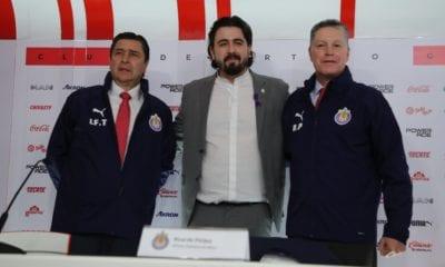 Chivas estrena directiva. Foto: Twitter