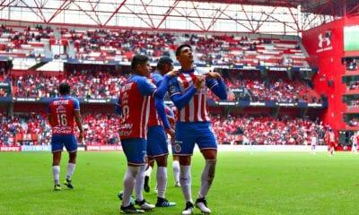 Chivas le pega a Toluca. Foto: twitter