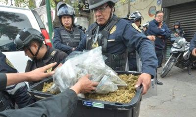 Tepito, Peralvillo 33, operativo, Droga, Policía capitalina, Omar García Harfuch, Juez Delgadillo,