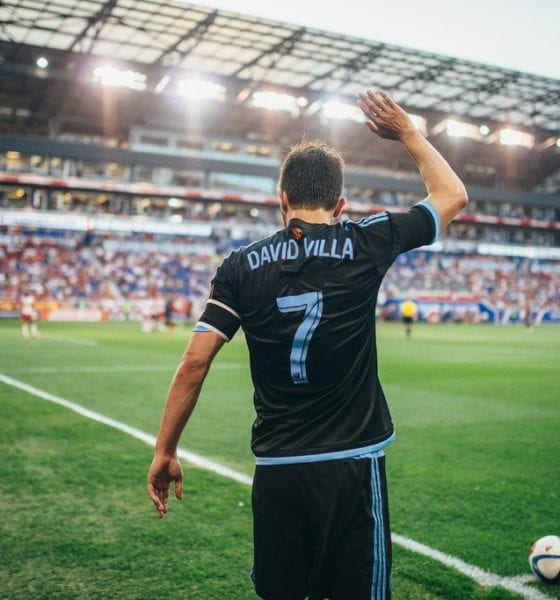 David Villa anuncia su retiro del futbol profesional. Foto: Twitter