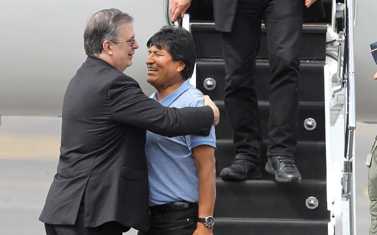 Evo Morales, Marcelo Ebrard, Bolivia, Golpe de estado, asilo político,