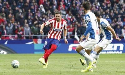 Héctor Herrera sufre con el Atlético de Madrid. Foto: Twitter