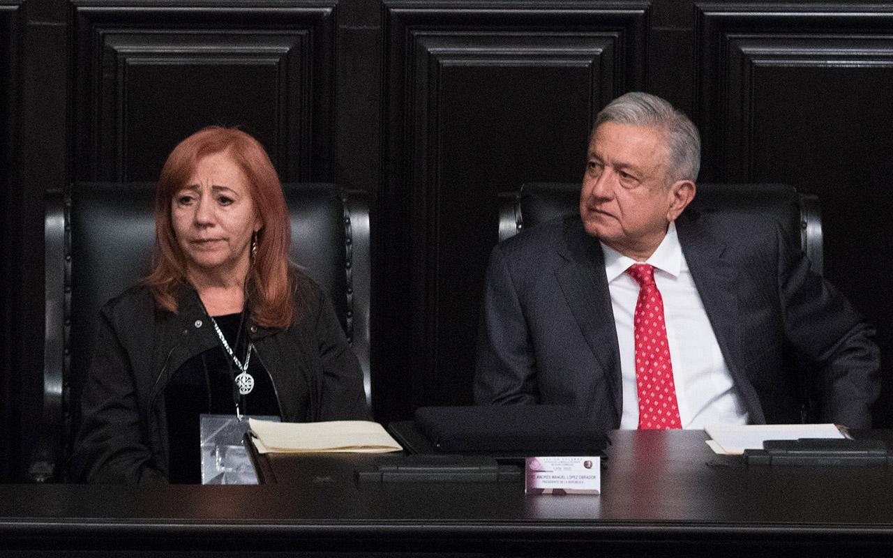 Rosario Piedra, CNDH, Senado