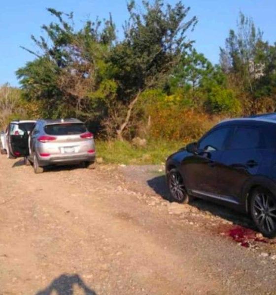 Así luce la escena del crimen en Jalisco (Twitter)