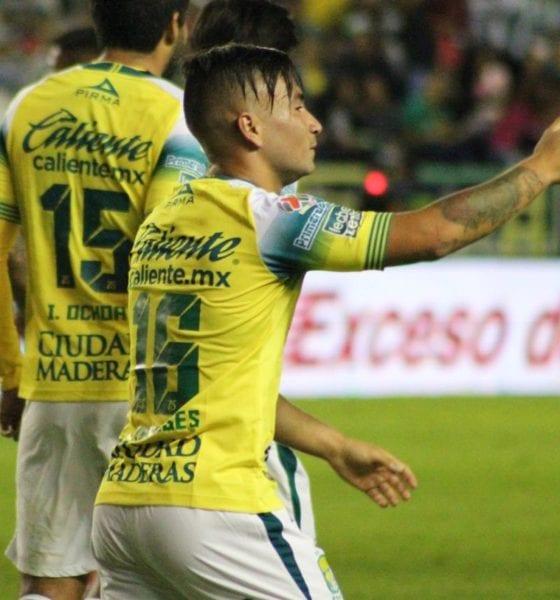 León le pegó a Toluca. Foto: Twitter