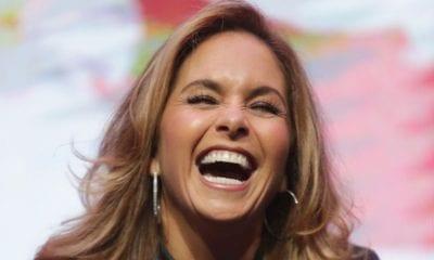 Lucero se ríe Lucero se ríe de los chismes/Foto: EFEde los chismes/Foto: EFE