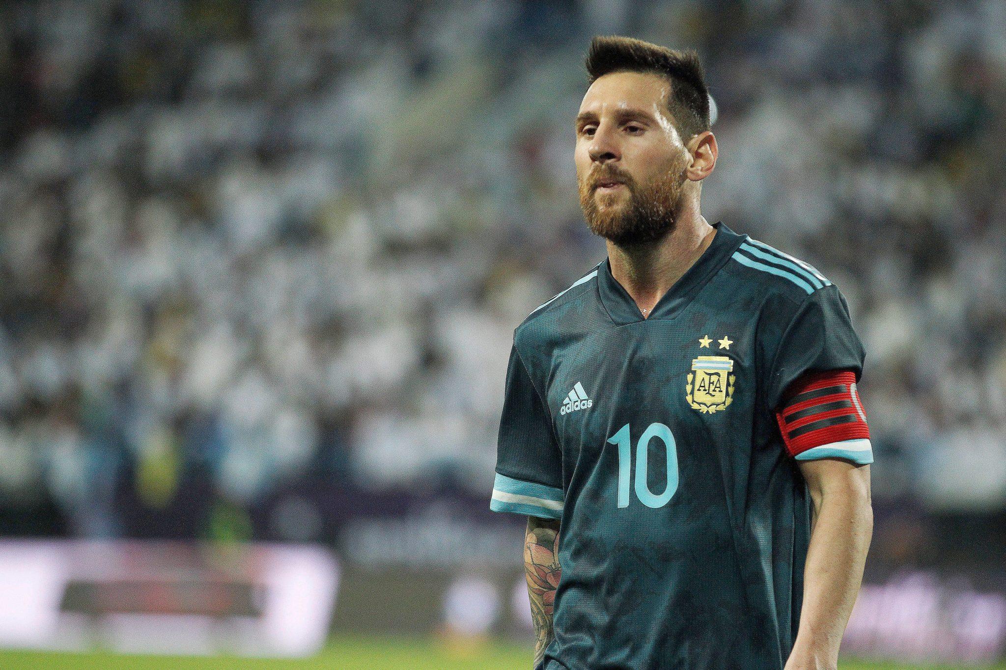 Messi da triunfo a la albiceleste