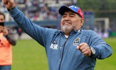 Maradona en perfecto estado de salud. Foto: Twitter