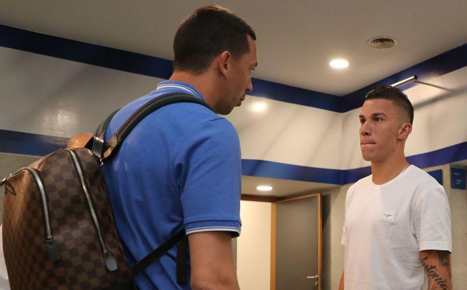 Mateus Uribe y Marchesín fueron sancionados. Foto: Twitter