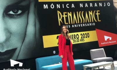 Mónica Naranjo/Foto: Cortesía Auditorio Nacional