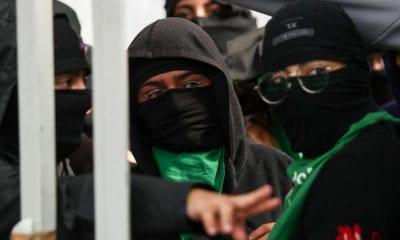 UNAM, pañuelos verdes, feministas, Facultad Filosofía,