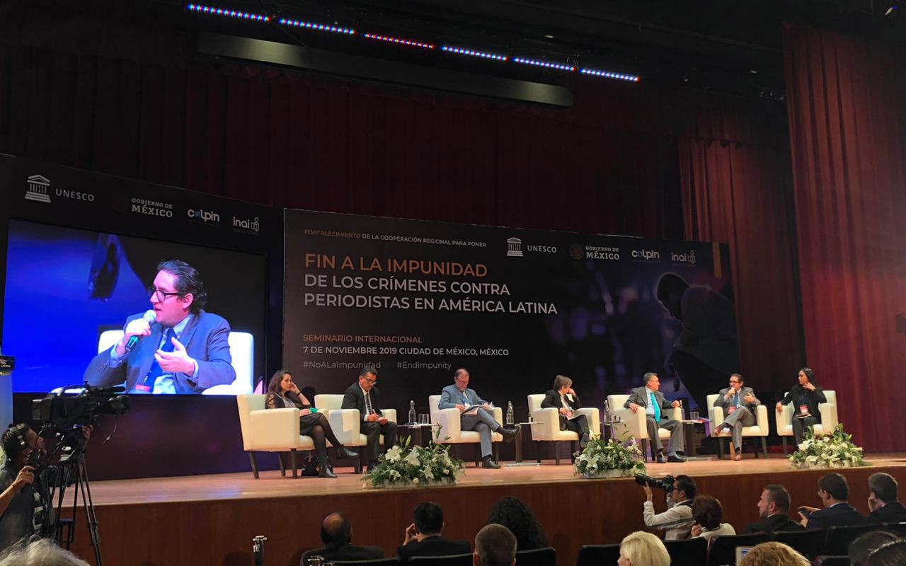 periodistas, UNESCO, CNDH, Luis Raúl González Pérez, ONU, Jan Jarab,