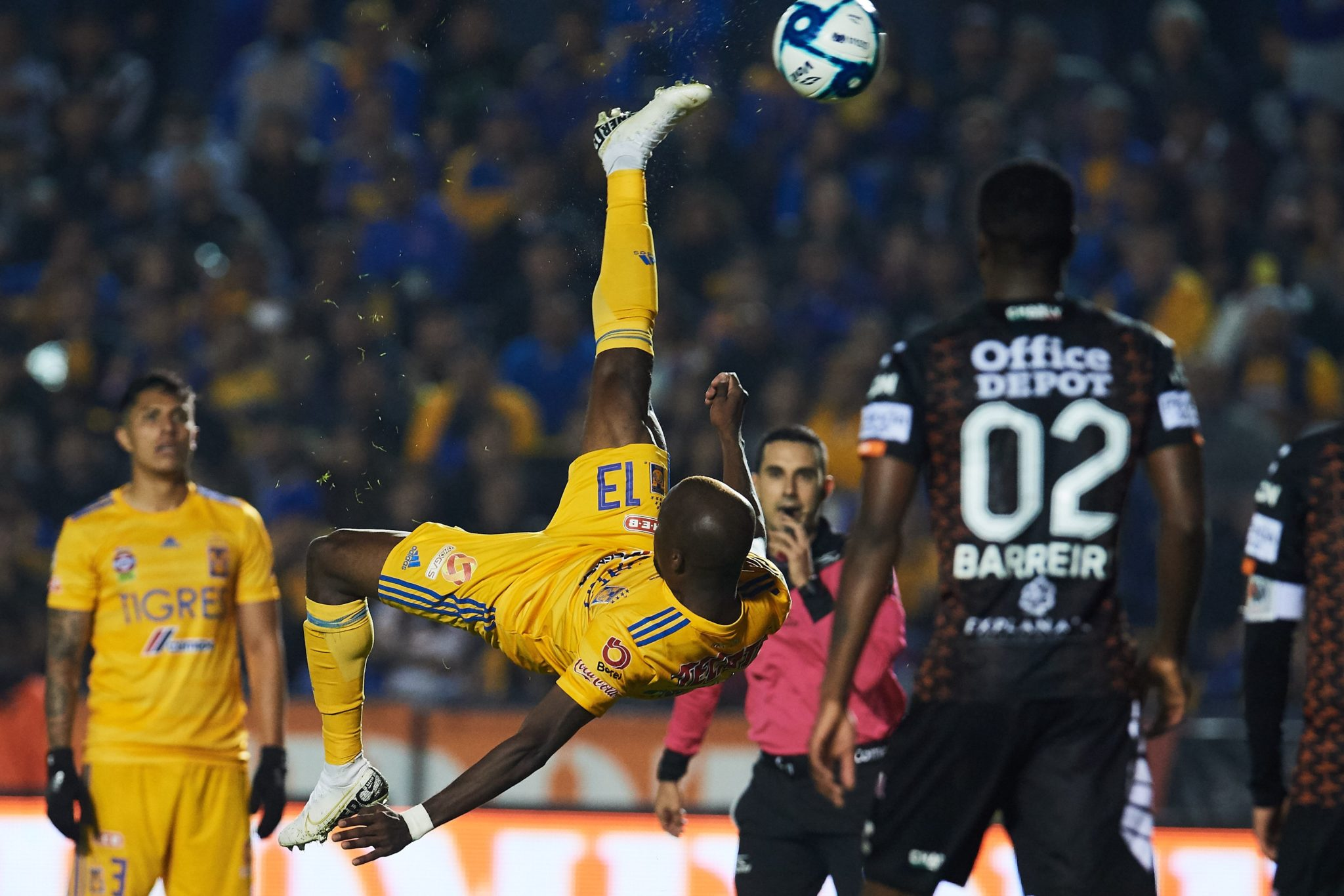 Pachuca empató con Tigres. Foto: Twitter
