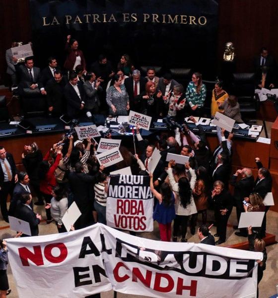 CNDH, AMLO, Rosario Piedra, fraude
