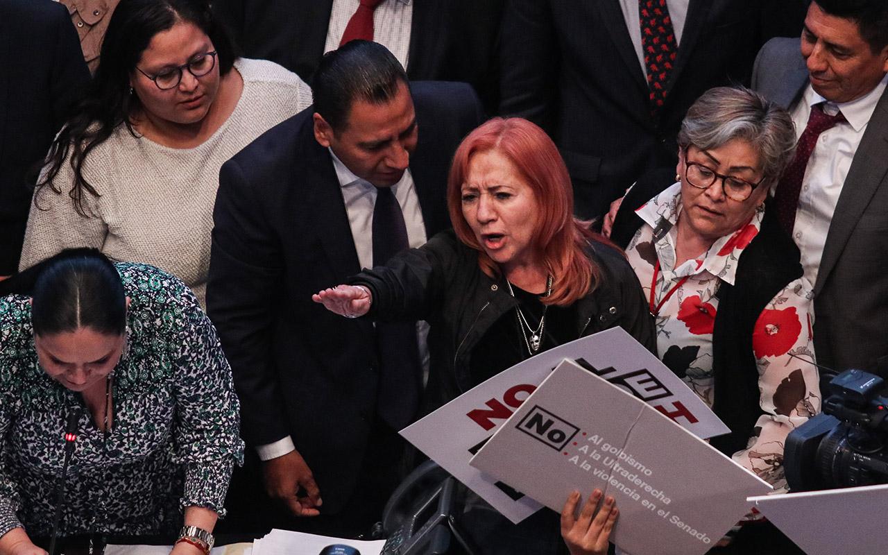 Rosario Piedra, CNDH, FRAUDE, Senado,
