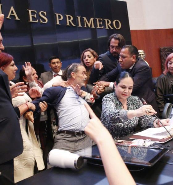 Rosario Piedra, CNDH, Senado, Gustavo Madero,