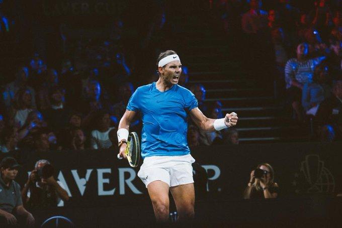 Rafael Nadal estará en el Abierto Mexicano de Tenis. Foto: Twitter