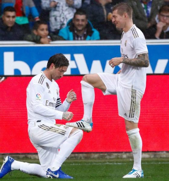 Real Madrid asumió el liderato en España. Foto: Twitter
