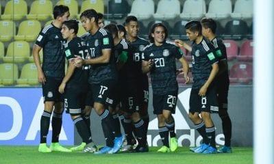 Selección mexicana goleó a Islas Salomón. foto: Twitter