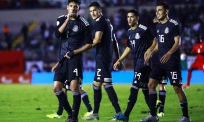 Selección Mexicana venció sin problemas a Panamá. Foto: Miselección