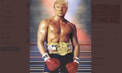 Trump 'Balboa' incendia las redes sociales