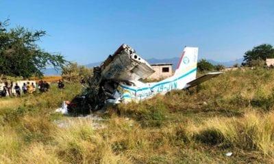 La avioneta sufrió el accidente aproximadamente a las 8:49 horas. Foto: Especial